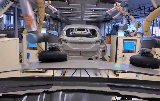Ford Fiesta Choreographs Assembly Line Collaborative Robots Cobots - image courtesy of Ford.