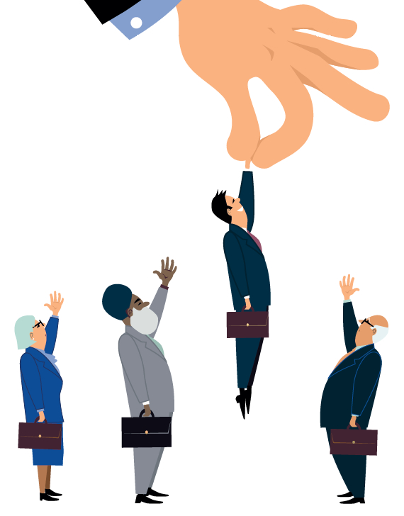 Recruitment Diversity Jobs Workers Skills - STOCK image
