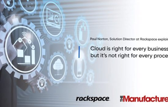 Cloud Adoption - Cloud is right for every business, but it's not right for every process