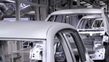 Automotive Conveyer in factory Production Line - image courtesy of Depositphotos.