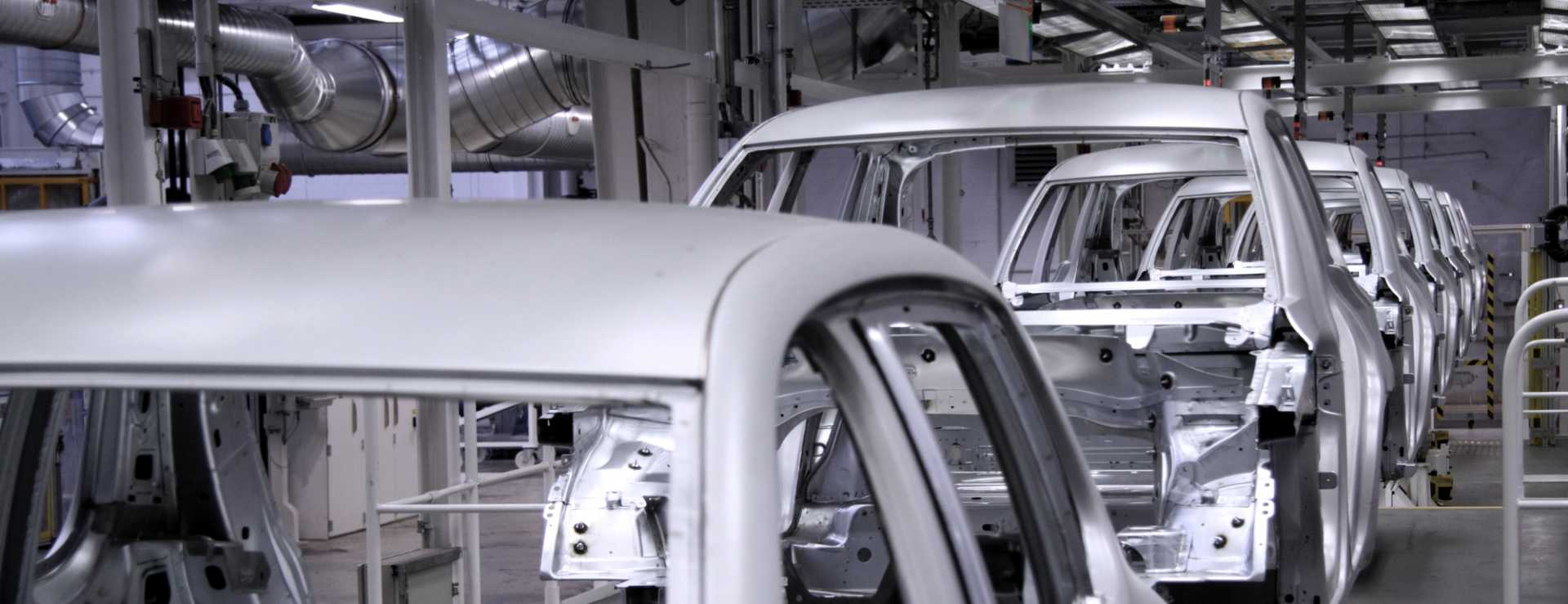 UK Manufacturers Automotive Conveyer in factory Production Line - image courtesy of Depositphotos.