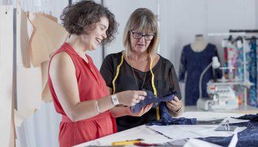 Dressmakers at David Nieper Sewing Rooms, Derbyshire