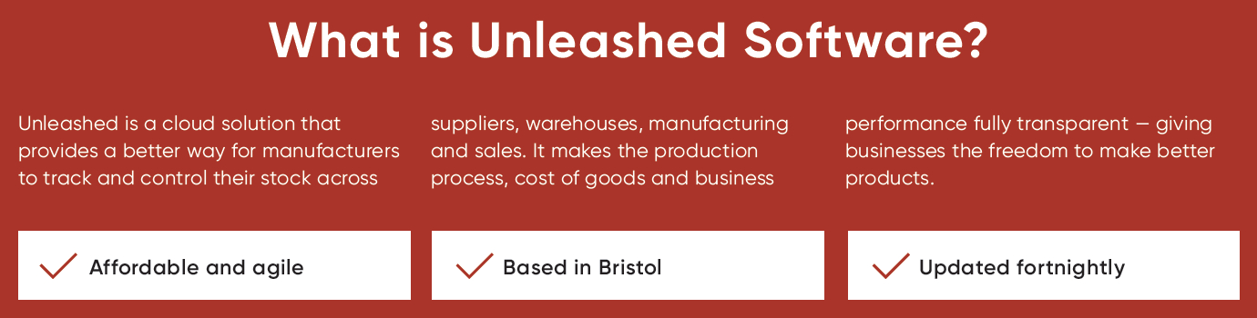 What is Unleashed Software