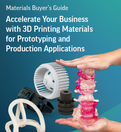3D Printing Materials Buyer's Guide - courtesy of 3DS..