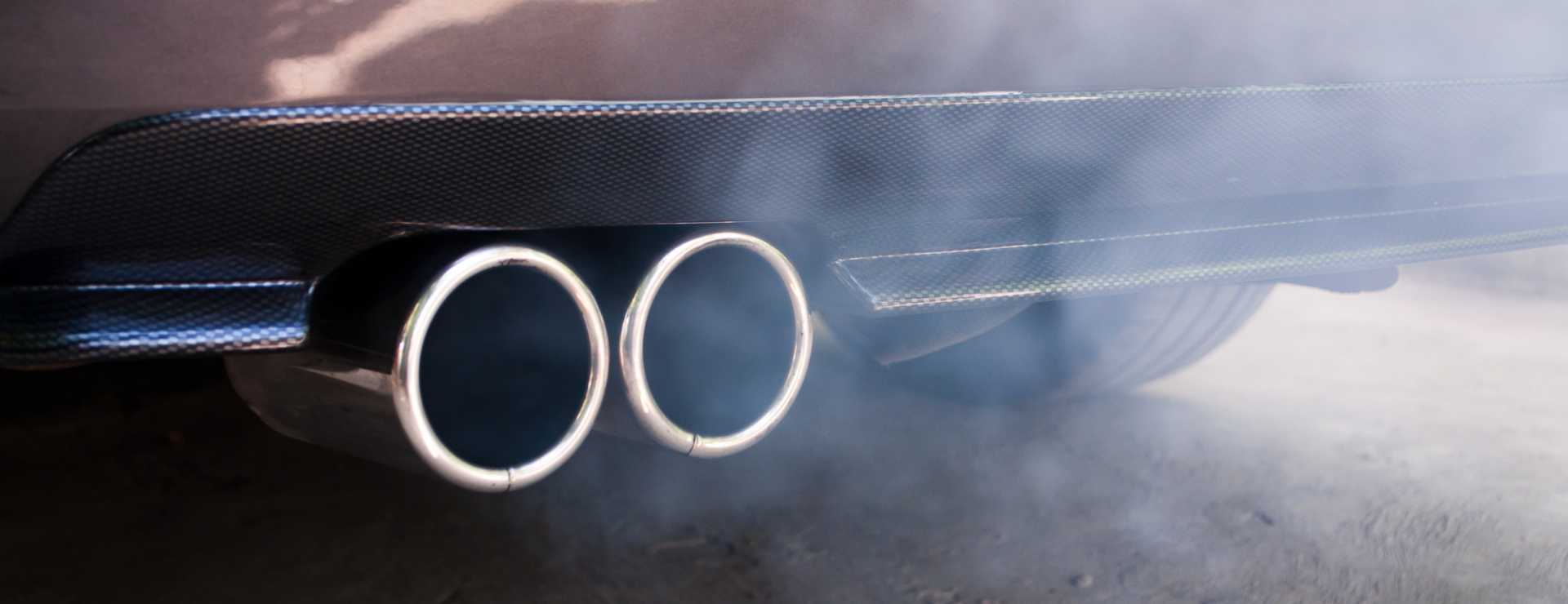 Car exhaust pipe emissions - image courtesy of Depositphotos.