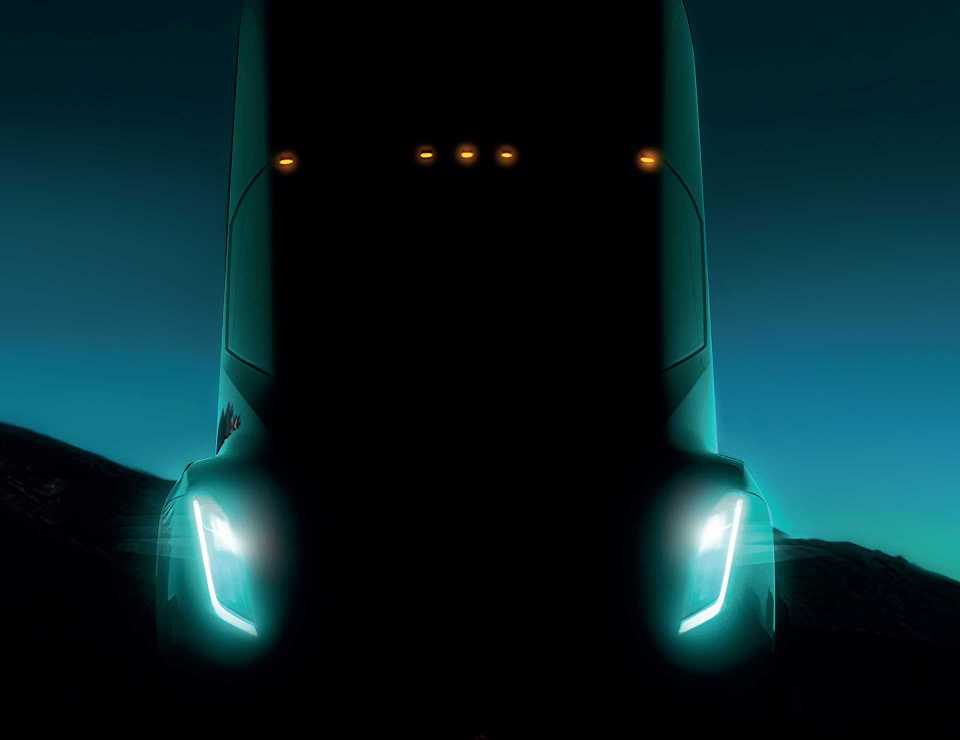 Carmakers face challenges across the board, coming at them like an electric juggernaut. This is the Tesla Semi, an electric lorry.