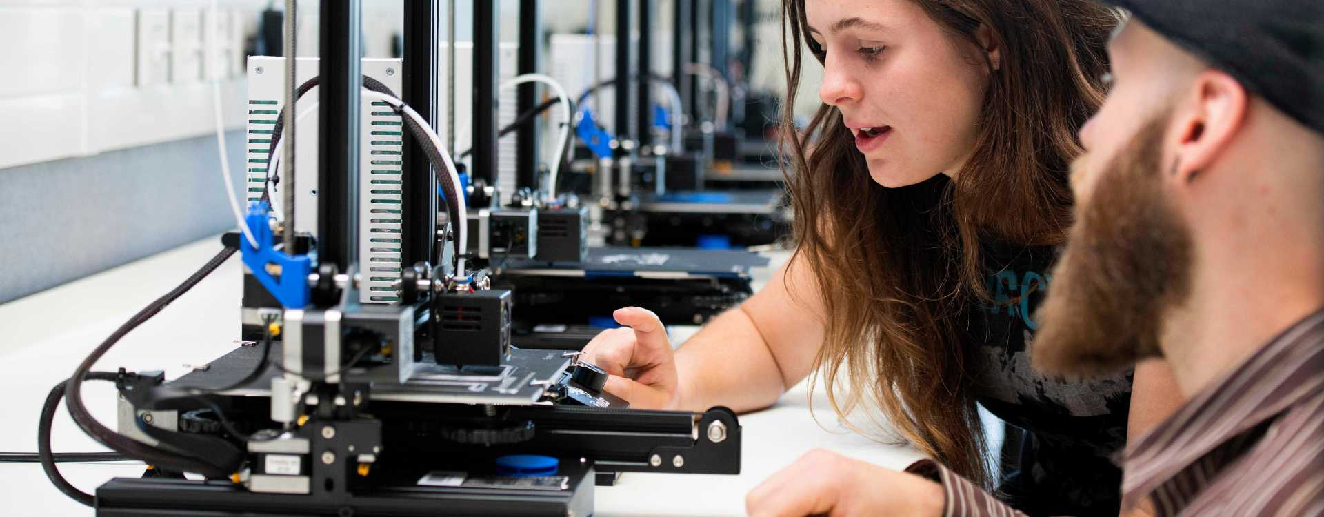 Additive Manufacturing Lab - image courtesy of the University of Central Lancashire (UCLan).