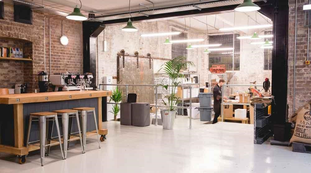 Open Plan Work Space - Stock Image