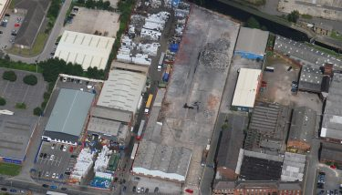 The extra 30,000 sqft of industrial space will house a larger workforce and much more factory activity - image courtesy of Warehouse Systems Limited.