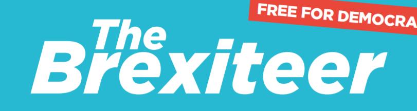 Brexiteer banner