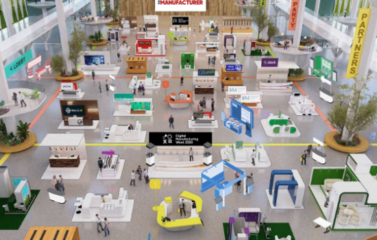 Smart Factory Expo demo hall - TM Event listing 560x400