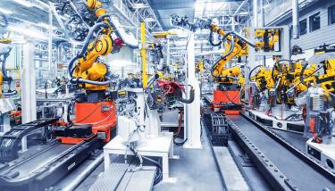 Manufacturing Robotics Automation - STOCK Image