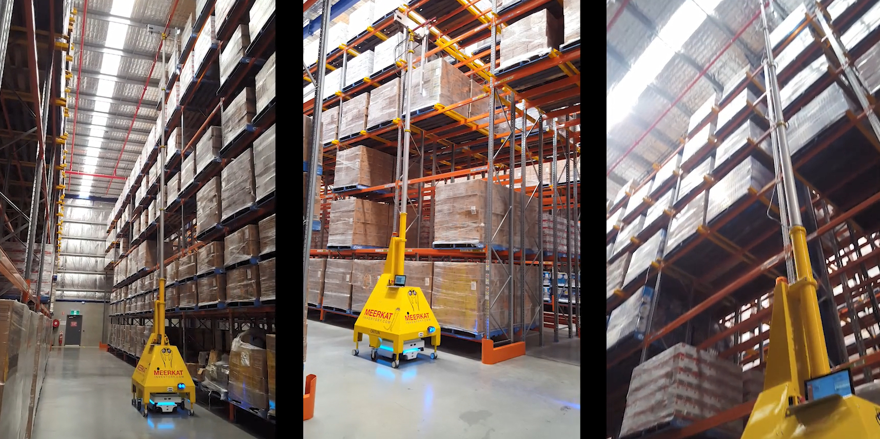 Low cost sensors – Meerkat - Automating inventory management - image courtesy of DHL Supply Chain UK