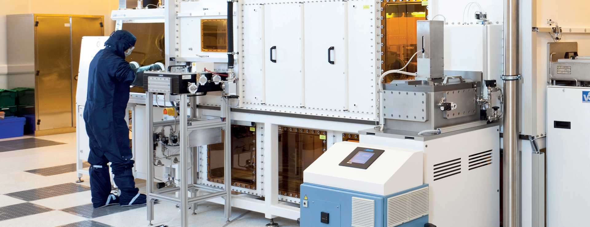 Cleanroom at CPI's National Printable Electronics Centre