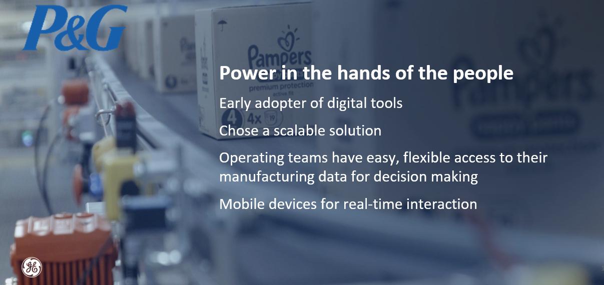Proctor and Gamble - GE Digital (1)