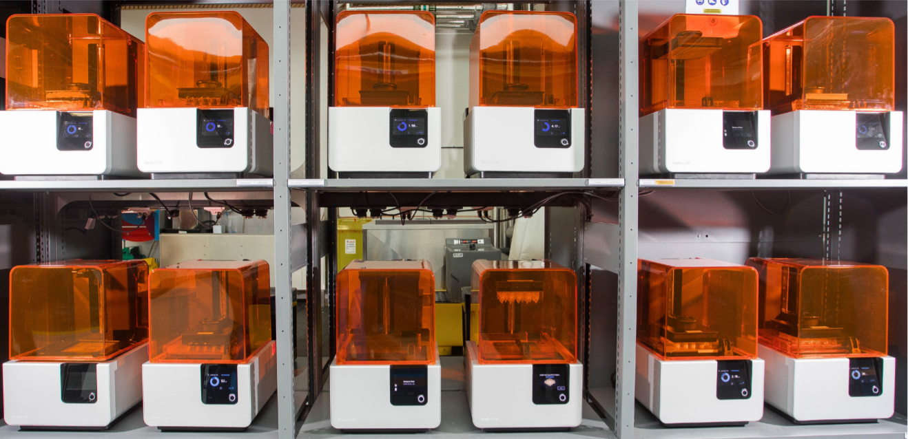 additive manufacturing - Form 2 machines