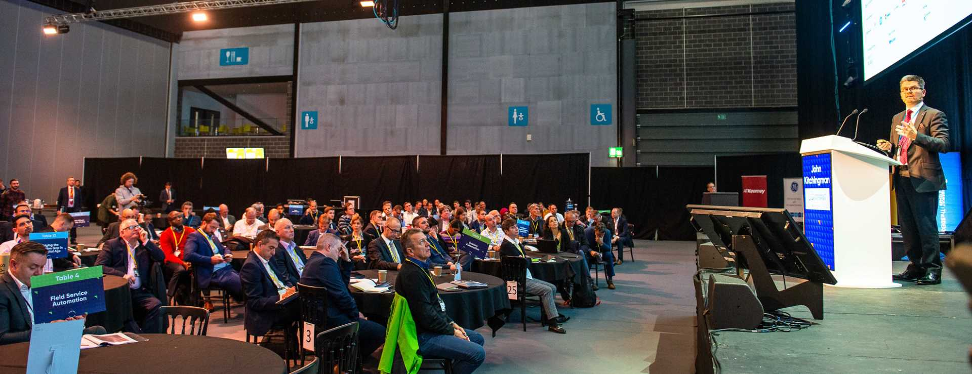 Business Sustainability - John Kitchingman, managing director – EuroNorth for Dassault Systèmes, took to the main stage at Manufacturing Leaders' Summit 2019 - image courtesy of The Manufacturer.