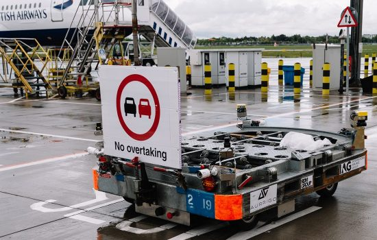 British Airways Autonomous Baggage Vehicle
