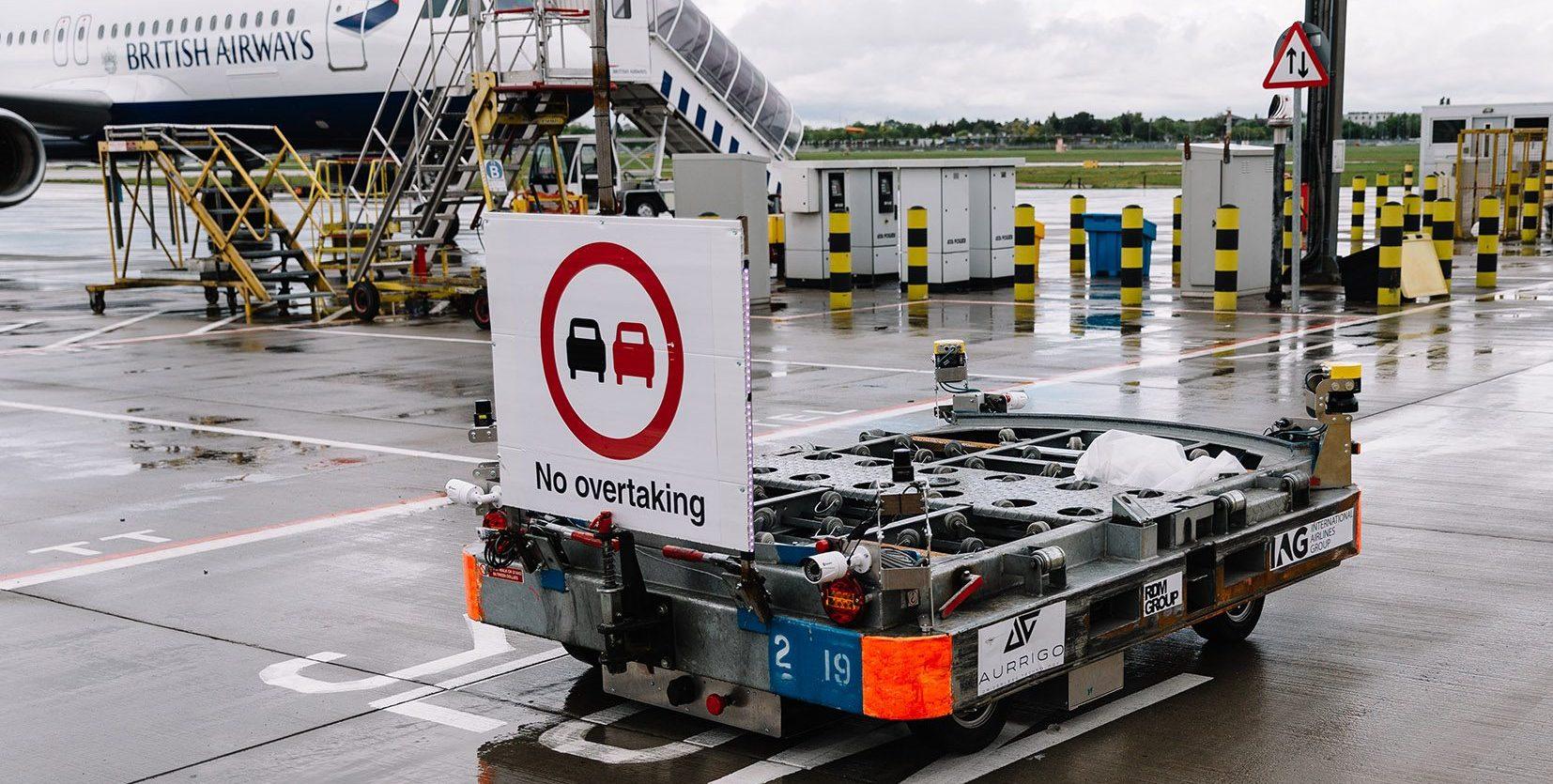 British Airways Autonomous Baggage Vehicle
