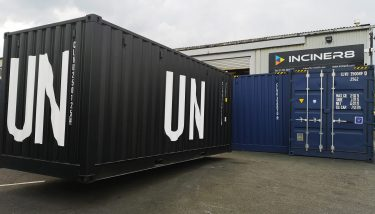 A UN-purchased unit making ready for deployment in Africa