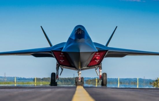 Next-generation Combat Aircraft -Tempest - image courtesy of BAE Systems