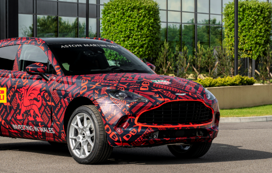 CROP - Aston Martin DBX St Athan