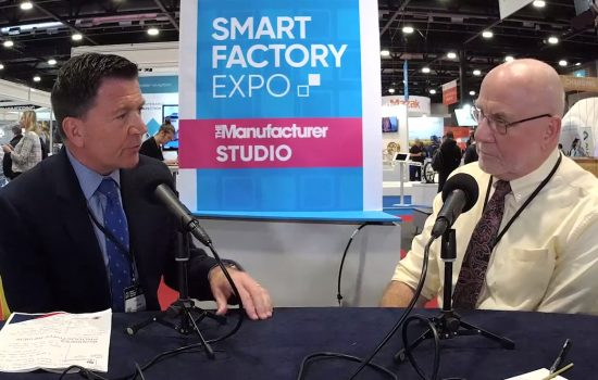 Why pushing the pause button on business investment could be a bad idea - The Manufacturer Studio - Smart Factory Expo 2019 - Video Thumbnail