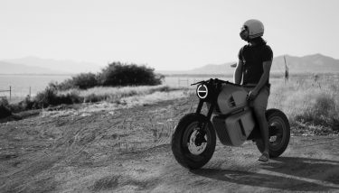 The NAWA Racer design has been inspired by the original café racers of London in the 1960s - image courtesy of NAWA
