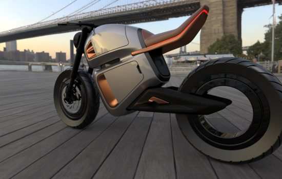 The NAWA Racer is the first electric motorbike to use ultra capacitors - image courtesy of NAWA