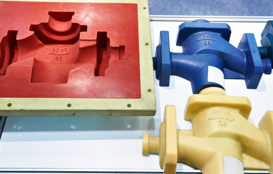 Most items made of plastic are manufactured using Injection molding since very high volumes of identical parts can be produced at a very low cost per part - image courtesy of APS