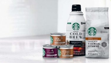 A new range of Starbucks branded coffee products will soon be available on store shelves - image courtesy of Nestlé.
