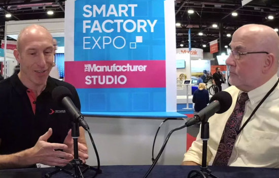 How can manufacturers begin their digital journey? - The Manufacturer Studio - Smart Factory Expo 2019 - Video Thumbnail