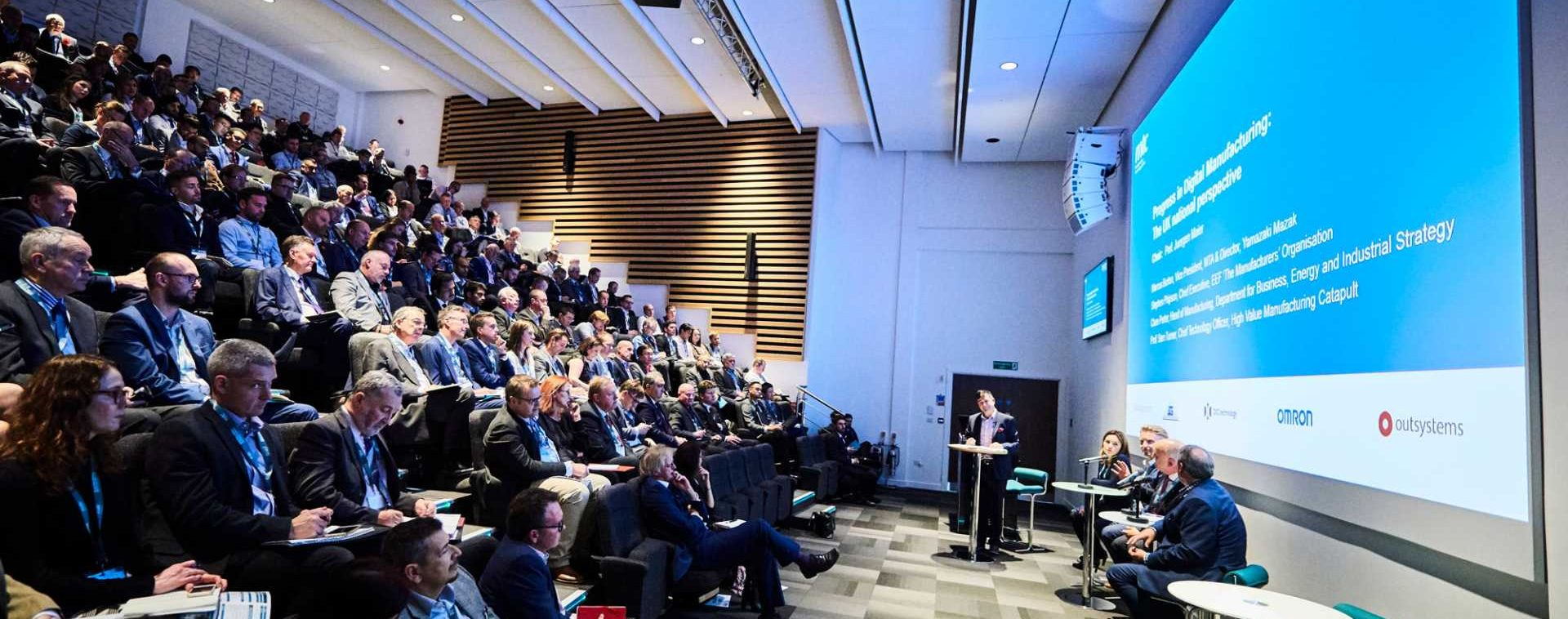 Making digital a reality - Digitalising Manufacturing Conference 2019 - image courtesy of MTC
