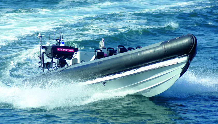 """BAE Systems RIB Pacific 24 RIBs into the service of the Royal Navy and Royal Fleet Auxiliary"""""""