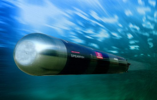 BAE Systems spearfish torpedo