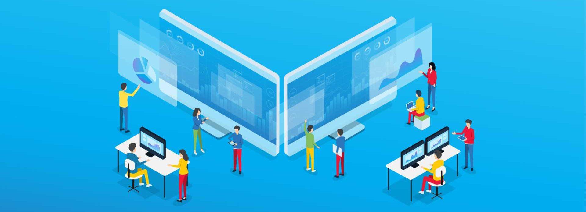 CROP - Digital roadmap Digital Strategy Digital Transformation Made Smarter - Stock image