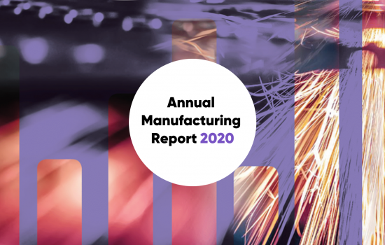 Annual Manufacturing Report 2020 - front cover