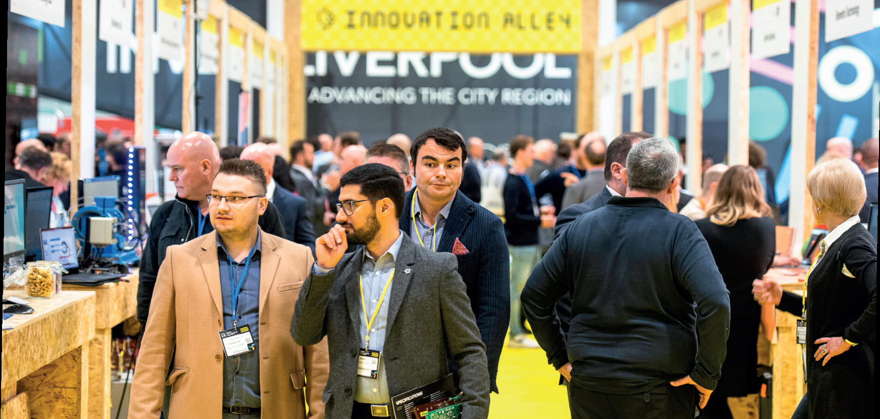 Innovation Alley 2019 - image courtesy of The Manufacturer