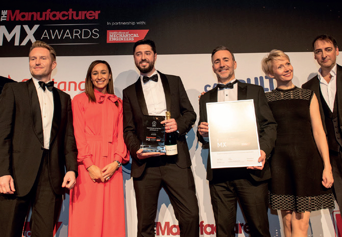 The Manufacturer MX Awards 2019 - Manufacturer of the Year Runner up - Domino Printing Sciences