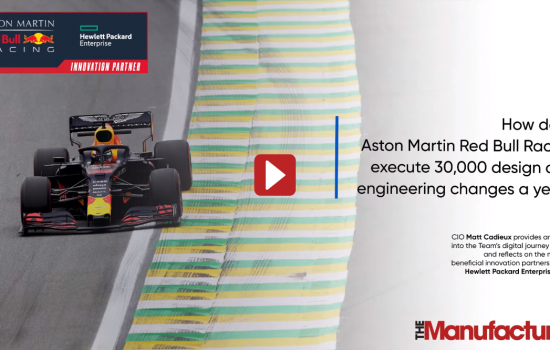 How does Aston Martin Red Bull Racing execute 30,000 design and engineering changes a year? - Thumbnail