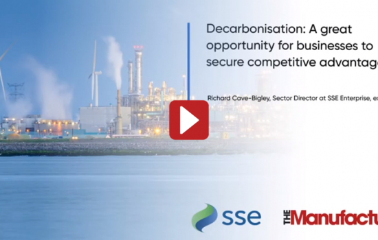 Decarbonisation: A great opportunity for businesses to secure competitive advantage - SSE Enterprise Video - Thumbnail