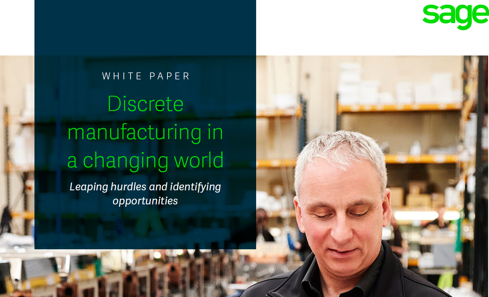 Discrete manufacturing in a changing world