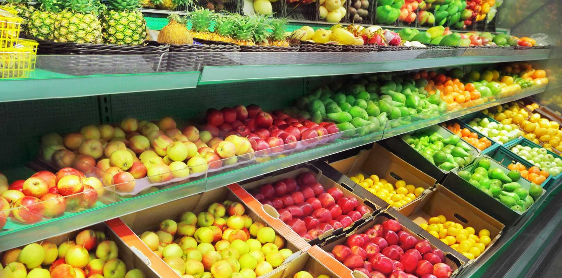 fruit in supermarket Image: Shutterstock