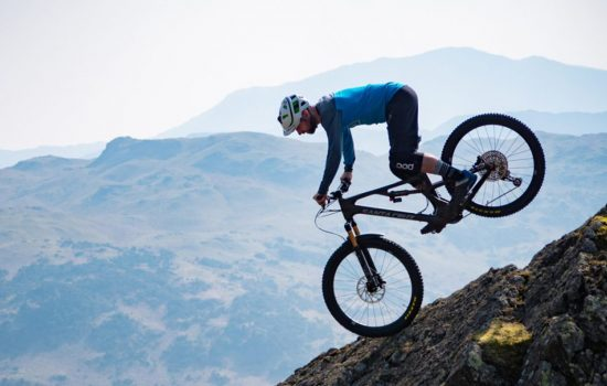Rockstop being tested on the Lake District fells – image courtesy of Ben Gerrish