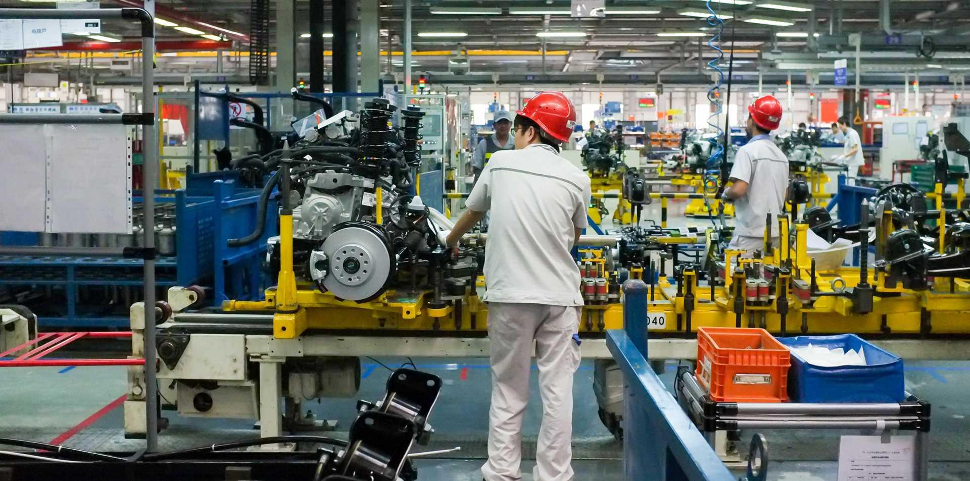 china auto plant (Shutterstock)