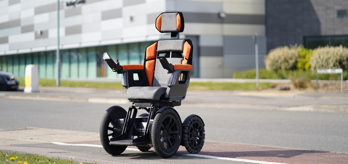 'Victor', a space-age mobility device, is the brainchild of Paralympian Capt Phil Eaglesham. Designed and prototyped at the AMR, this 'game changer' is now certified as a wheelchair that could go to market.