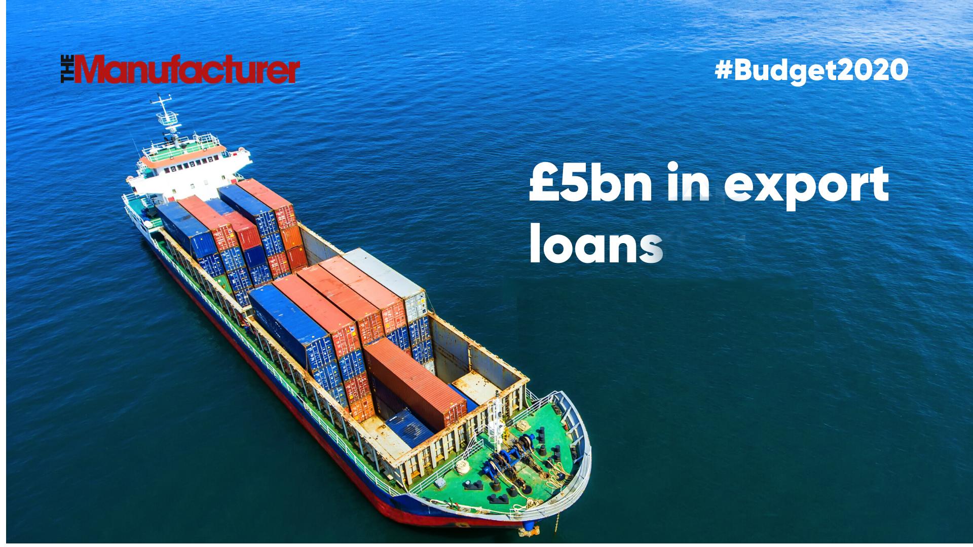 Budget 2020 - Export Loans