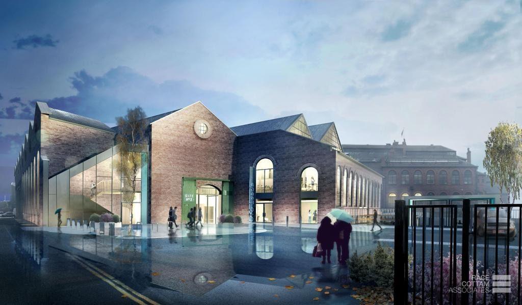 Leeds UTC. Image: Race Cottam Architects