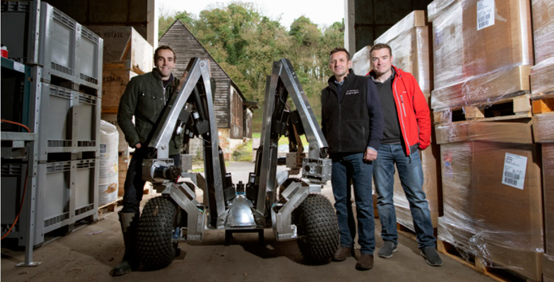 Not just for metal-bashing mega-industries – The Small Robot Company's prototype automated farming robot promises to revolutionise agriculture in collaboration with the MTC.