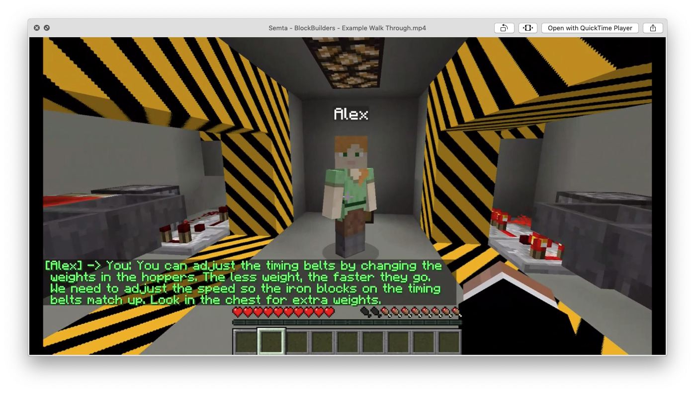 Minecraft adapted for skills and training by Enginuity. Image: Enginuity